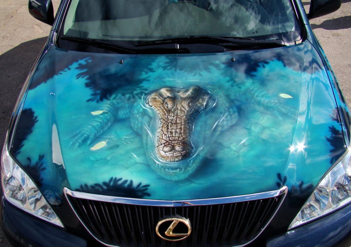 Прикольные рисунок авто