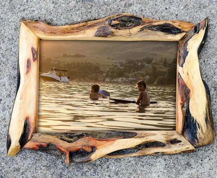 Рамка для картинки своими руками из дерева