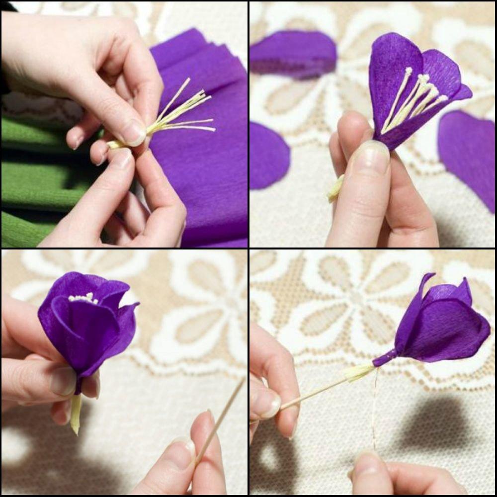 Картинки как делать цветы из гофрированной бумаги, для мужчин днем