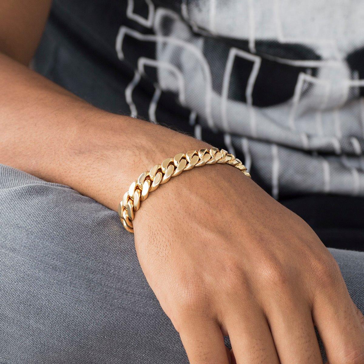 мужские браслеты из золота на руку фото том