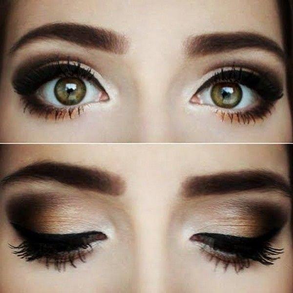 популярным макияж для увеличения глаз пошагово с фото этом возбуждении