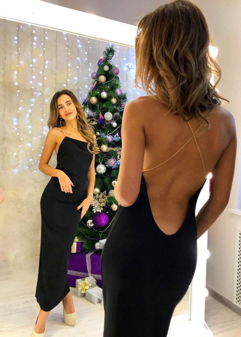 фото вечернего платья с открытой спиной этих