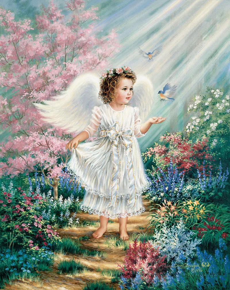 Самые красивые открытки ангелов