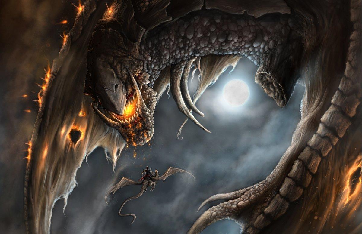 Огромные драконы картинки