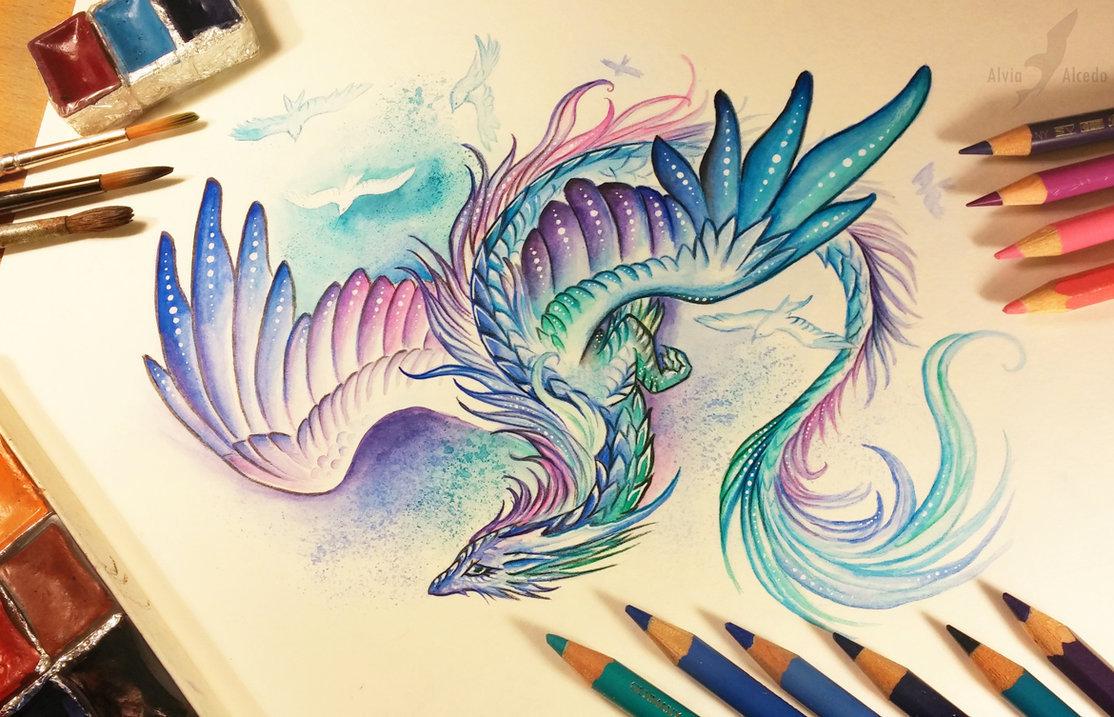 Картинки для, картинки красивые драконы нарисованные