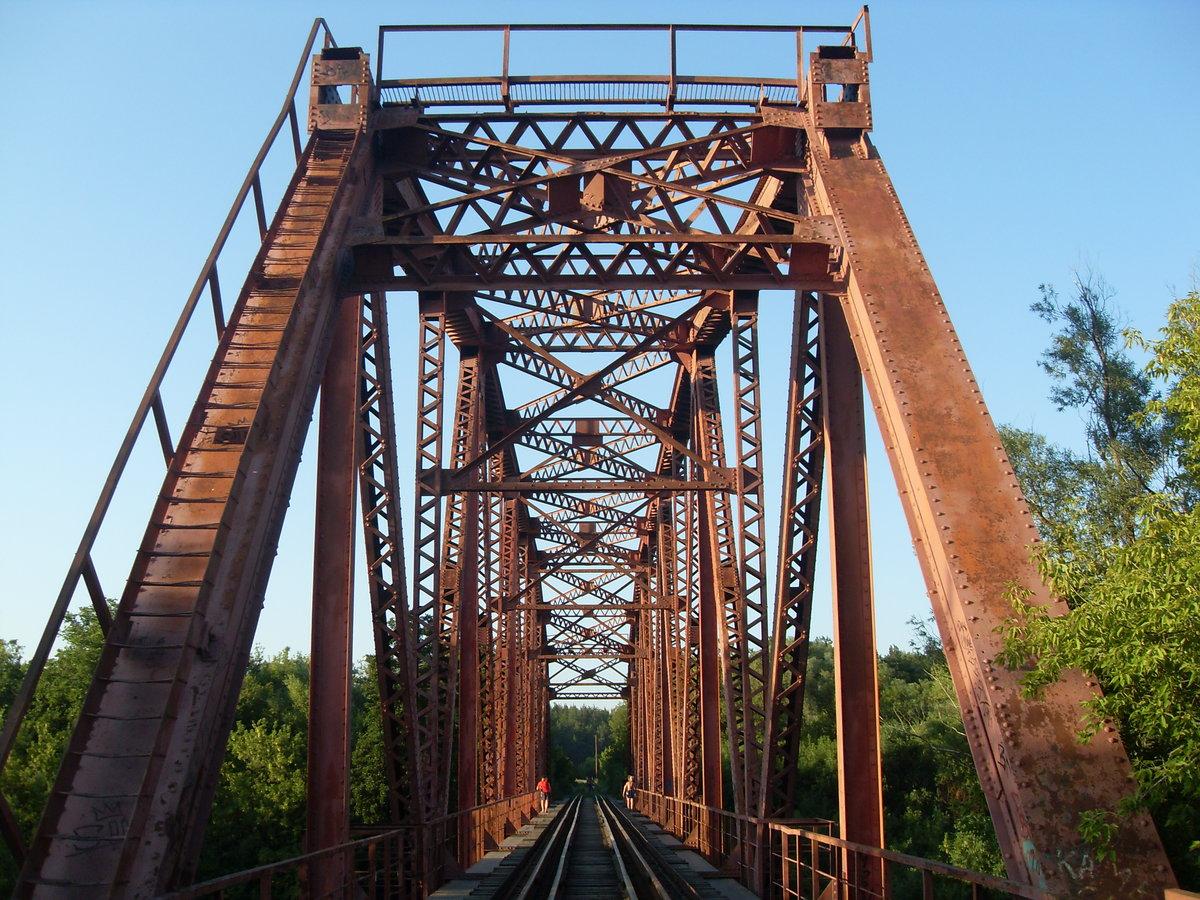 Красный мост курск фото