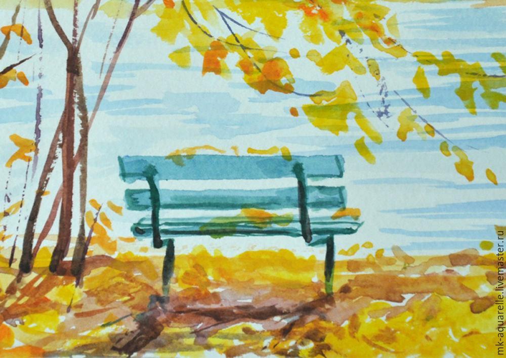 есть бассейн, рисунки осень для начинающих является одним четырех