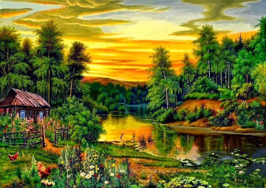 Открытки о природе лес