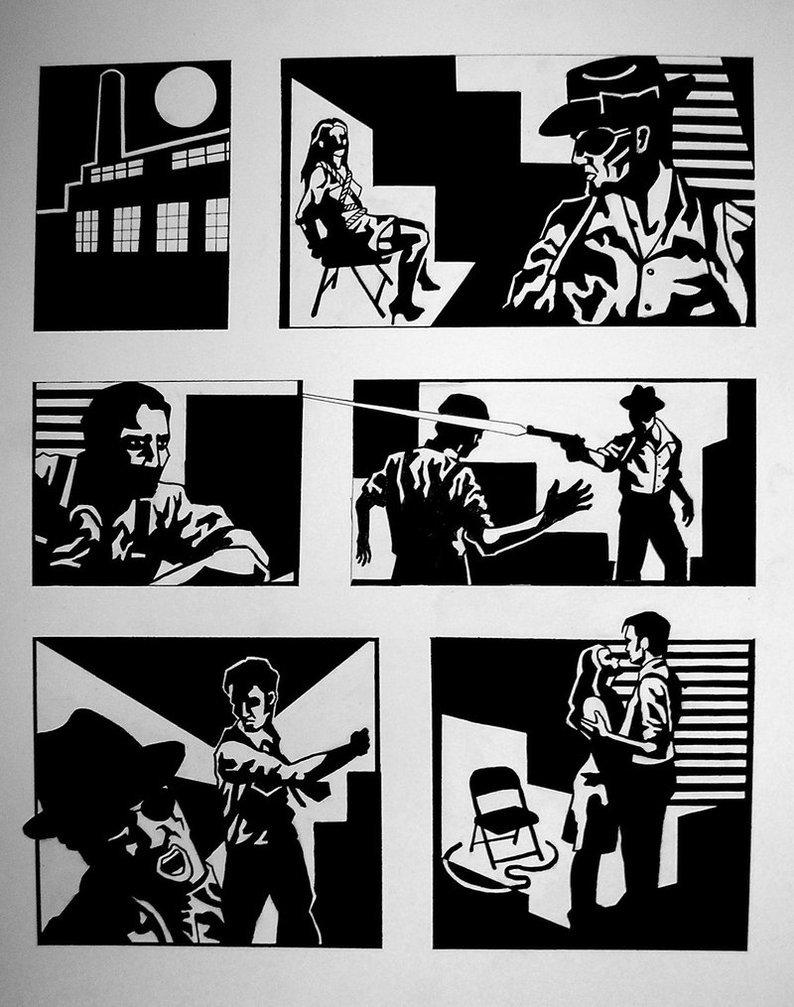Картинки комиксов нуар