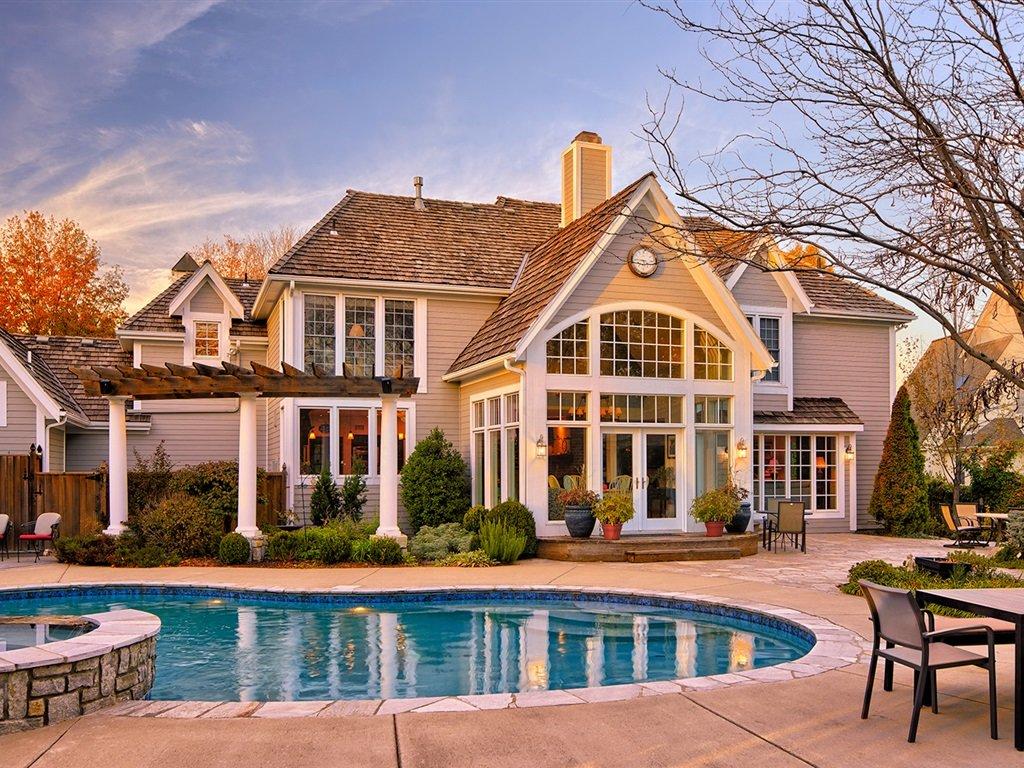 картинки красивых семейных домов сооружения