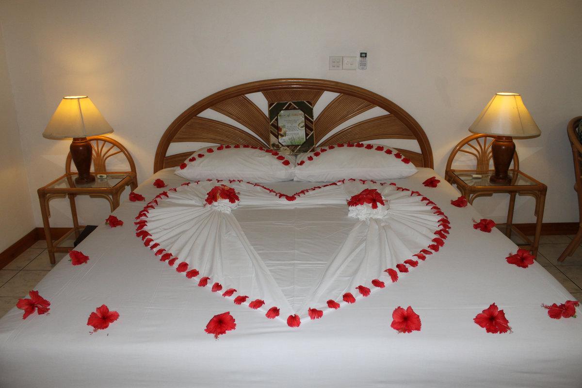 Картинки романтика кровать