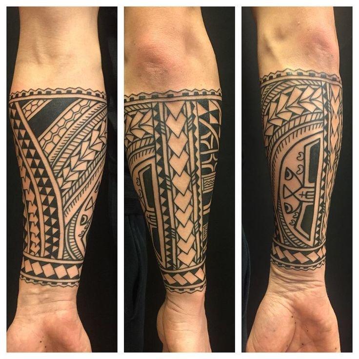 Best 25+ Tribal forearm tattoos ideas on Pinterest Black ban\