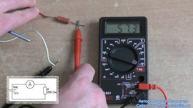 основы работы с мультиметром