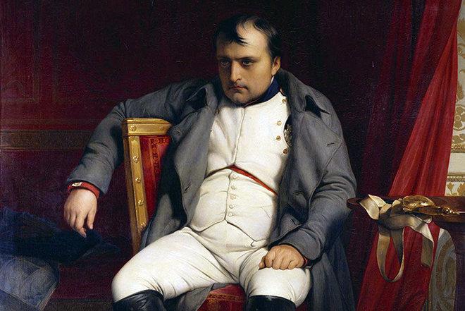 6 апреля 1814 года Наполеон Бонапарт первый раз отрекся от престола