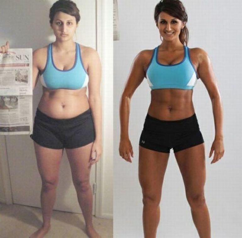 результат после фитнеса через месяц фото узнать