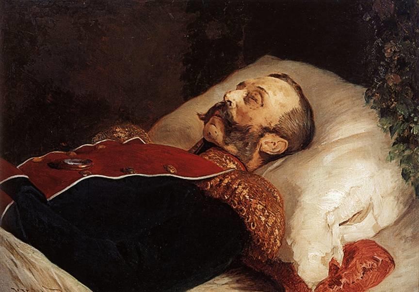 Константин Егорович Маковский - Портрет Александра II на смертном ложе. 1881