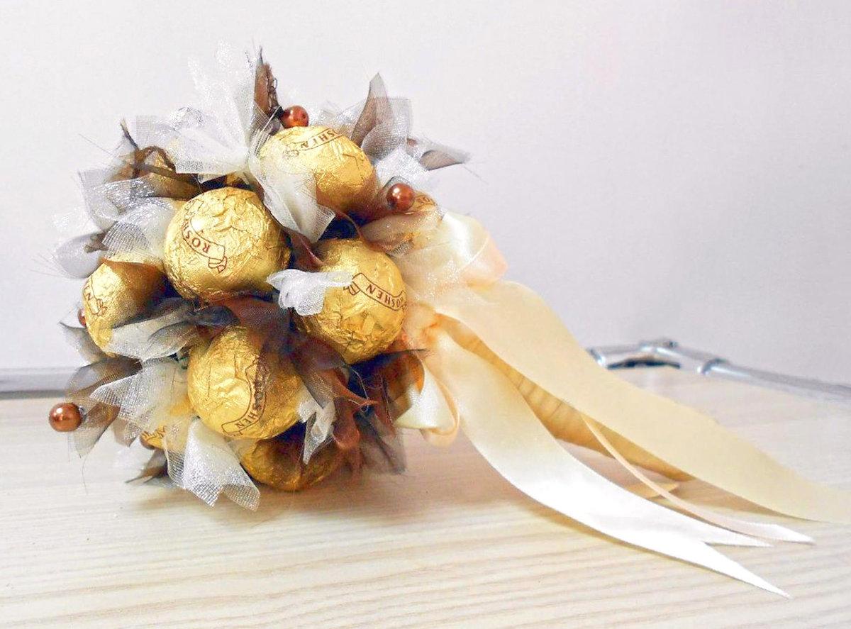 Доставка невестам букет из конфет спб, гвоздик свадебный