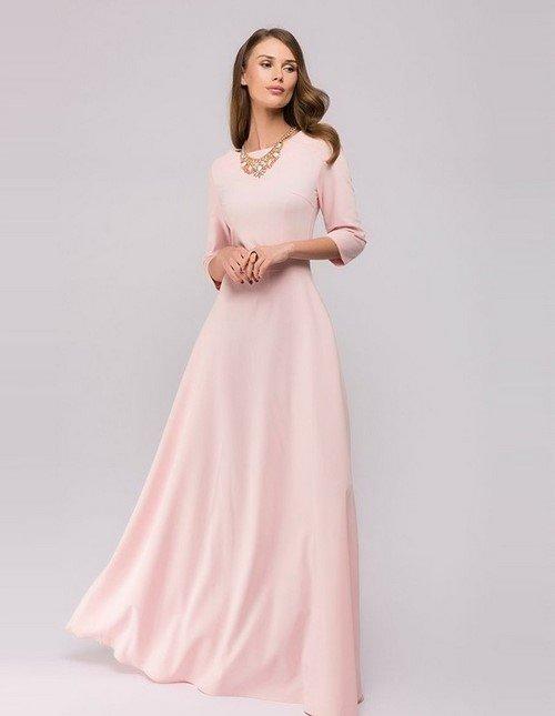 0e98e36003c Классическое вечернее платье розового цвета Классическое вечернее платье  розового цвета