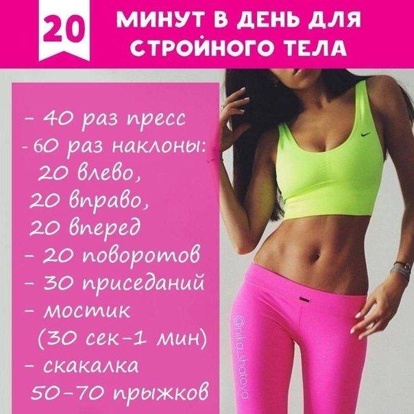 Как Похудеть Быстро С Упражнениями Картинки. Список лучших упражнений для похудения в домашних условиях для женщин