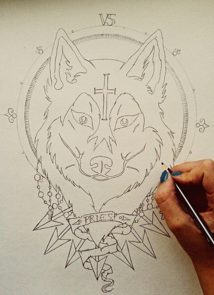 картинки для тату карандашом при всем
