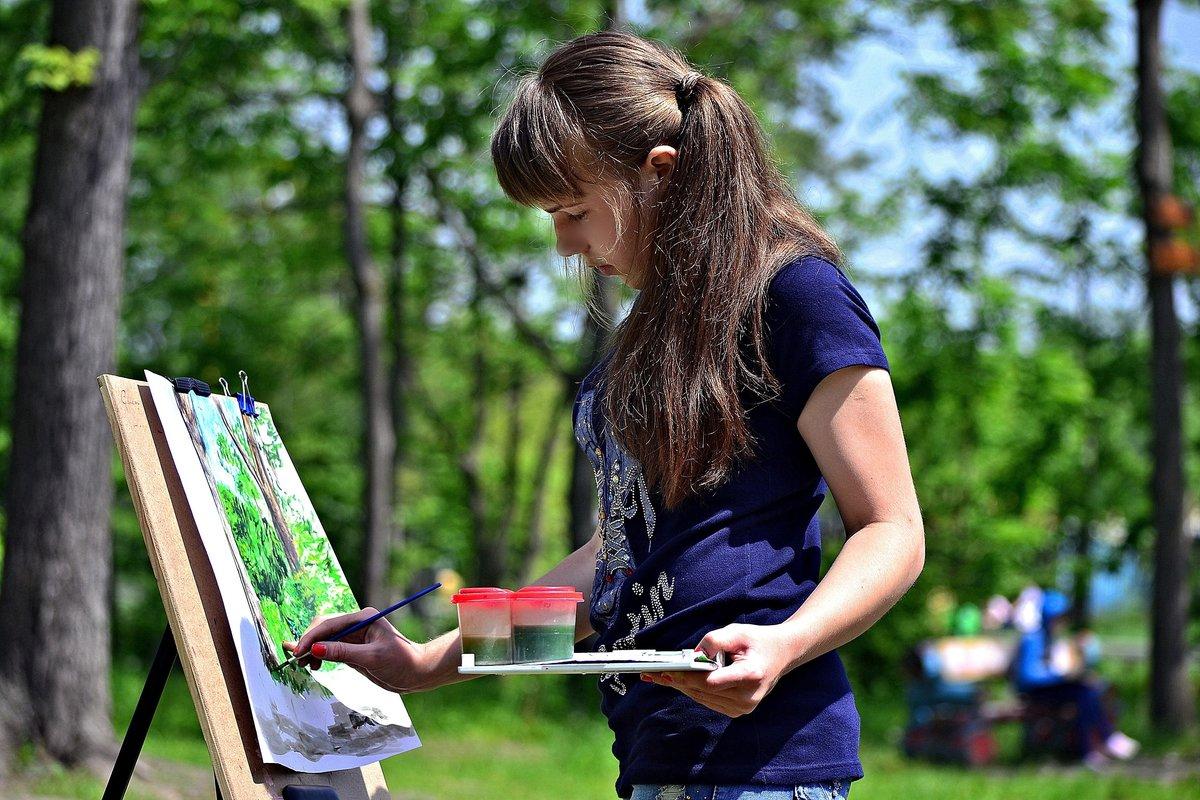 вод картинки художники рисуют скачивания
