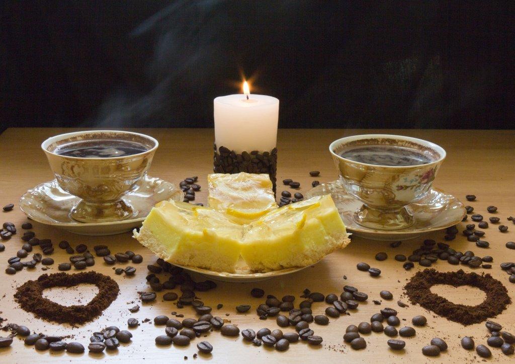 Доброе утро, картинки вечерний кофе на двоих