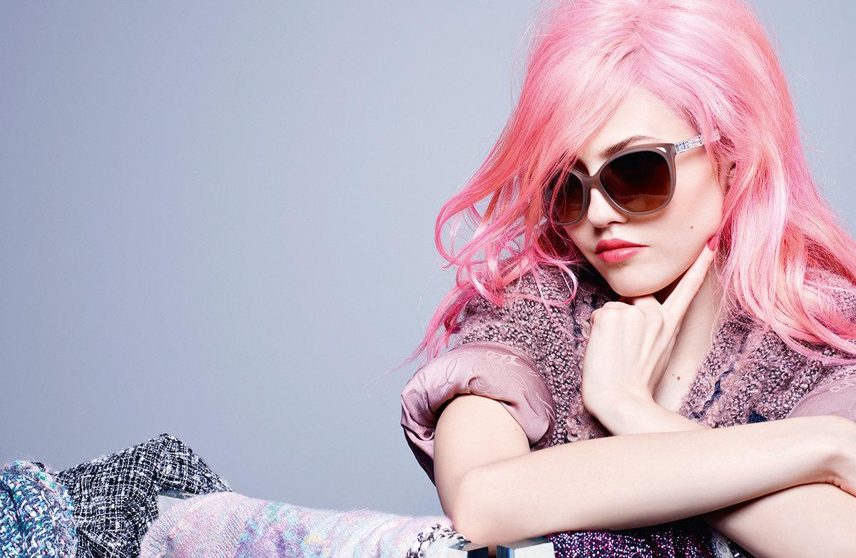 Картинки розовые волосы, открытки поздравлением новый