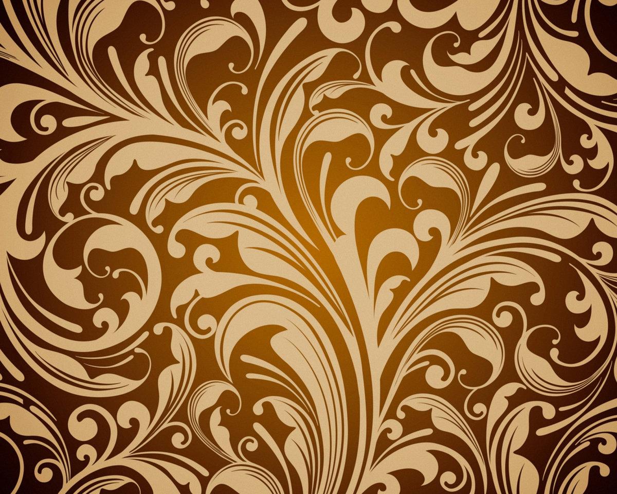 красивые картинки с узорами на коричневом фоне через десять