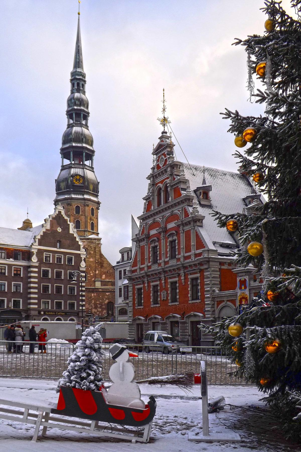 Елгава зимние фото туристов