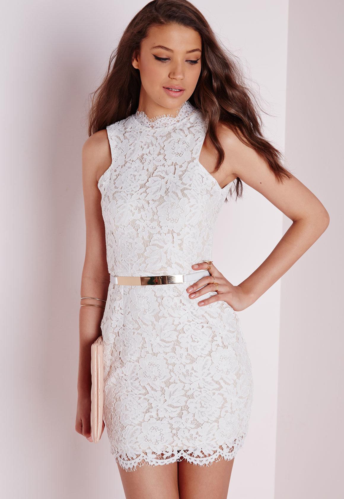 так белое платье с кружевами в картинках образ