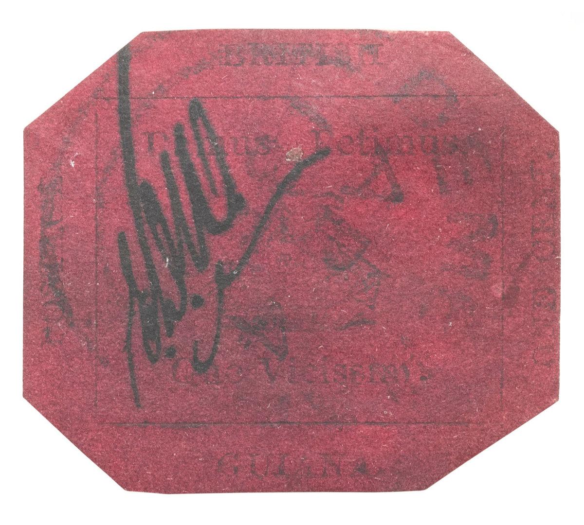 4 апреля 1856 года начались приключения самой редкой из когда-либо напечатанных марок