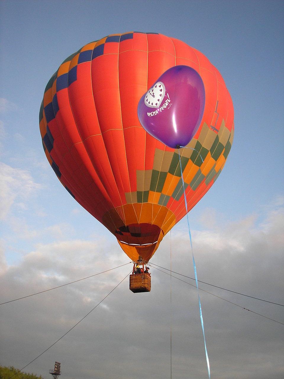 картинки на большом воздушном шаре разгар