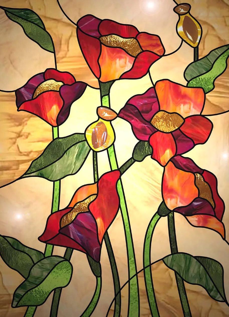 Цветные картинки для панно лучики