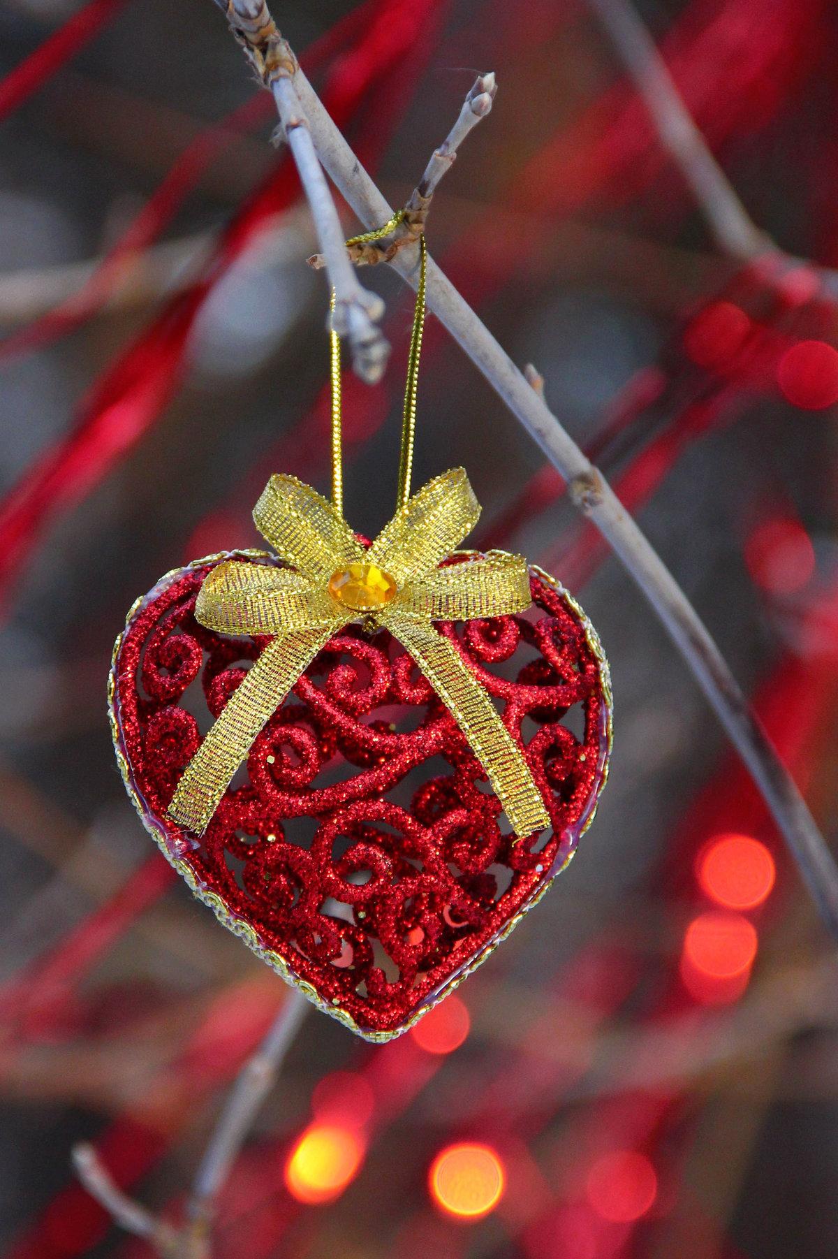 качественный новогодние сердечки картинки печенье