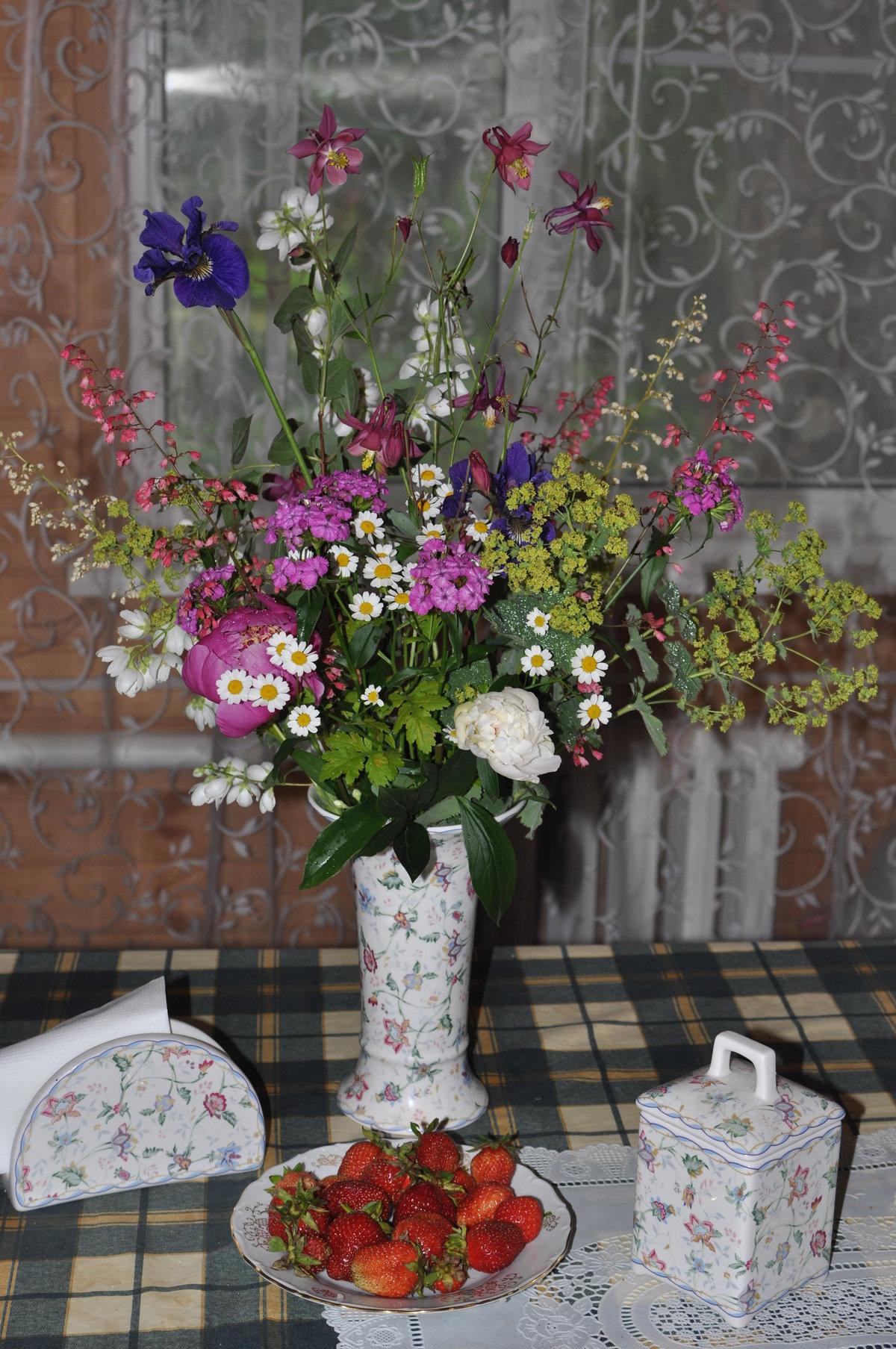 Цветы, красивое название букетов на старый манер