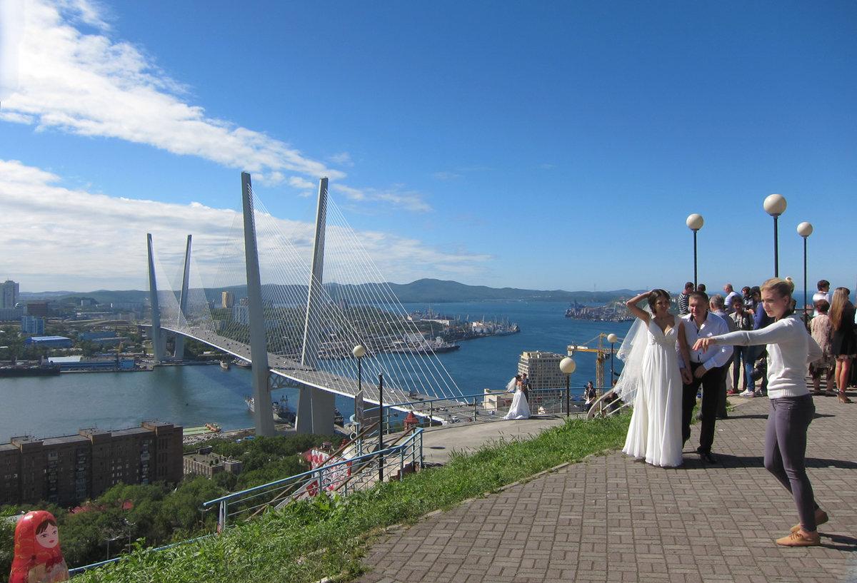 панорамные фото мостов владивостока список стран мира