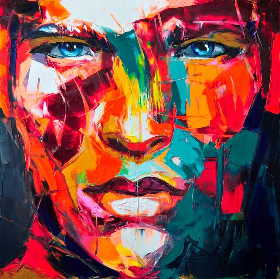 Постер яркие краски