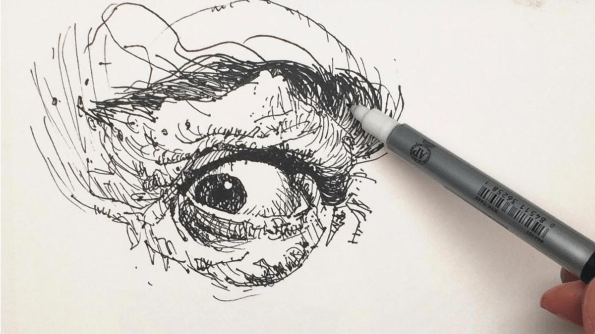 картинки как нарисовать тушь изготовление сладкой ваты