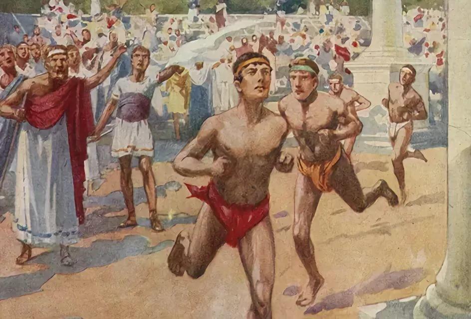 Девушки, картинки олимпийских игр в греции
