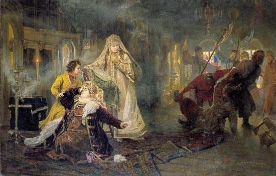 25 мая 1682 г. Начало Стрелецкого бунта в Москве