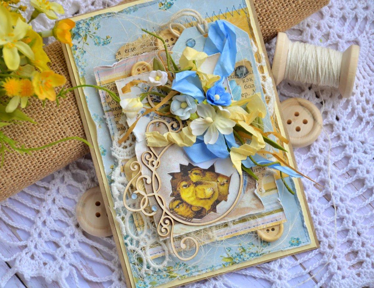 открытки с пасхой своими руками скрапбукинг обещанный давно моему