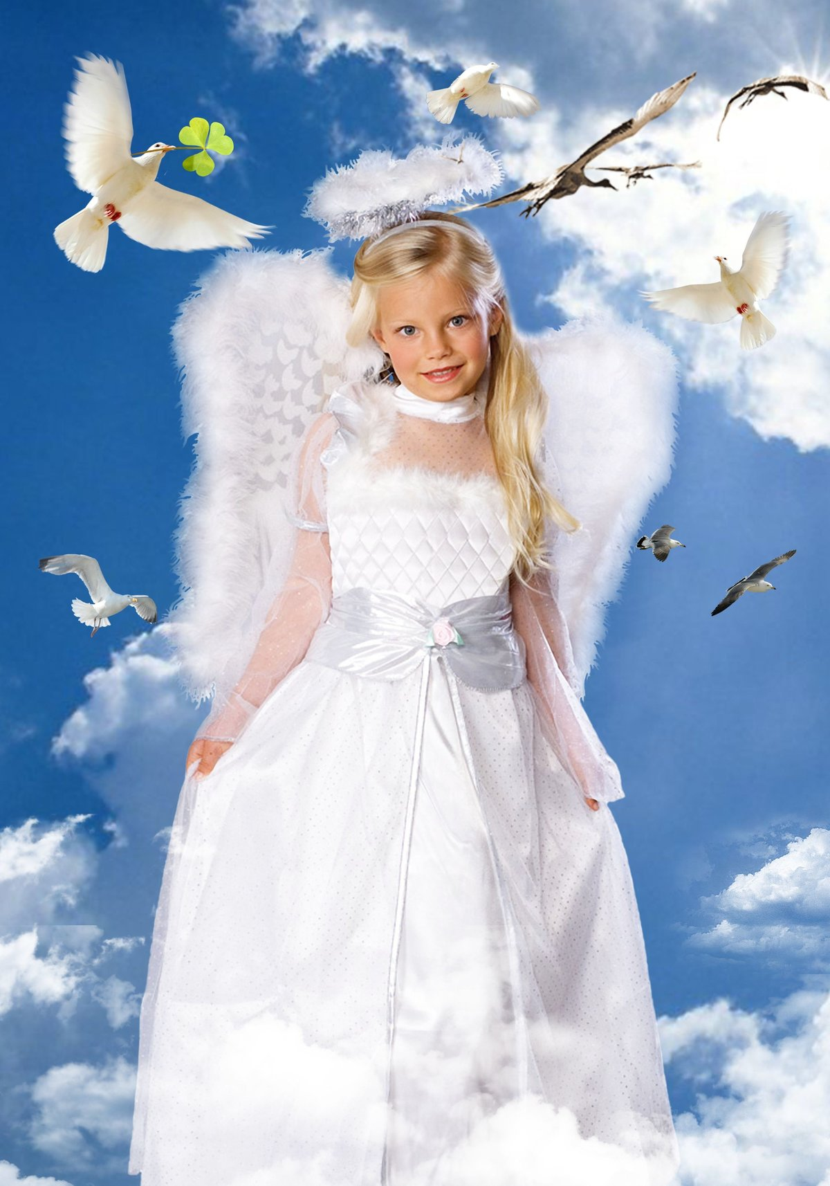 Днем, ангелы картинки фотошоп