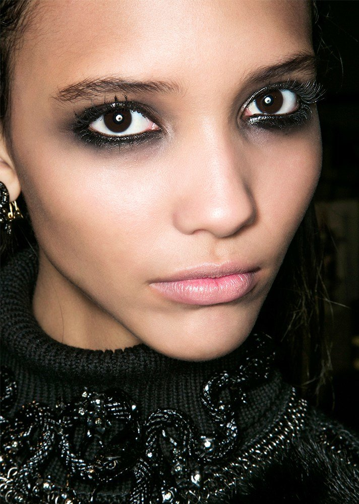 Красивые картинки глаза черные