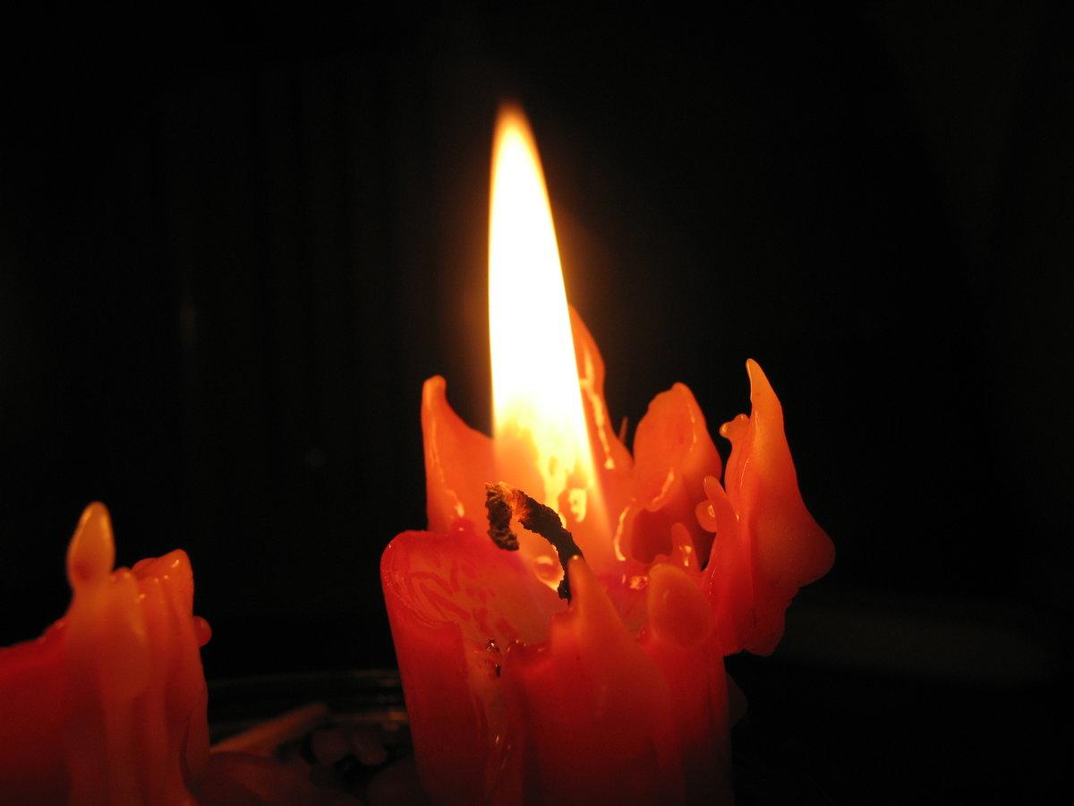 Днем рождения, картинки свеча горит