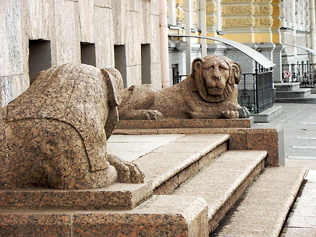 картинки сфинксов львов