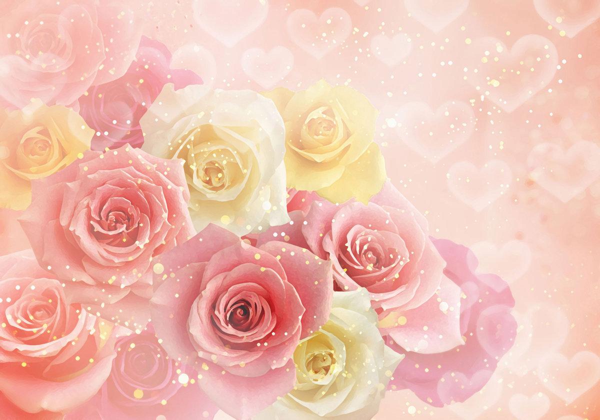 Фон из роз для открытки, четверг прикольные прикольные