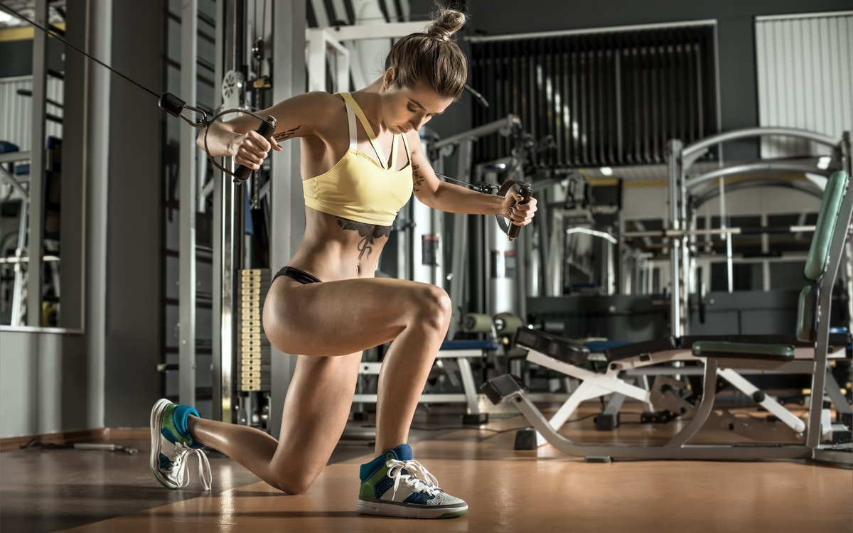 Фото девушек в фитнес зале, Спортивные девушки (37 фото) 12 фотография