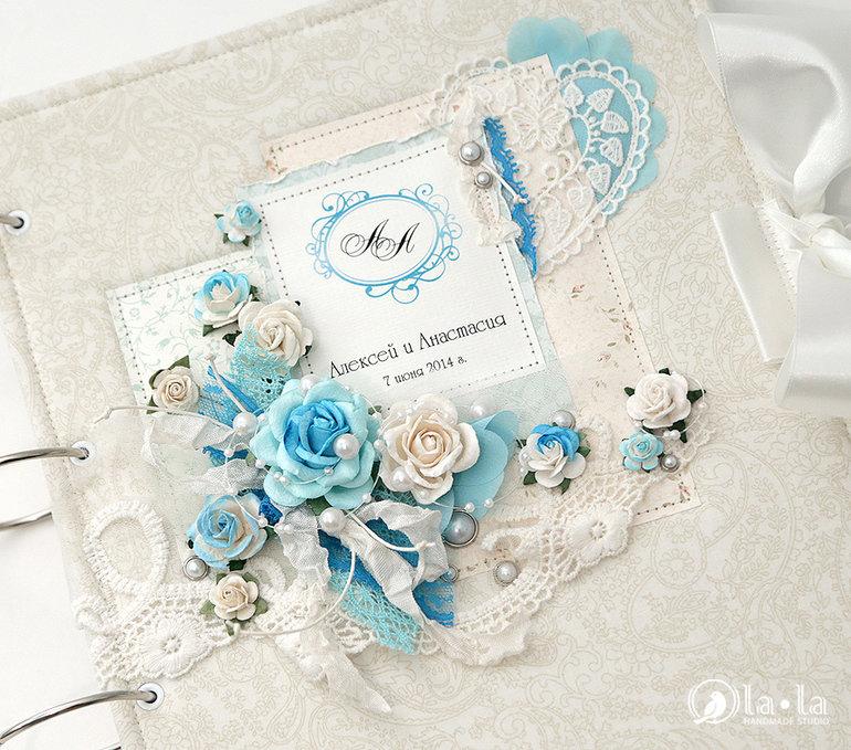 Открытки словами, свадьба открытка бело-голубая