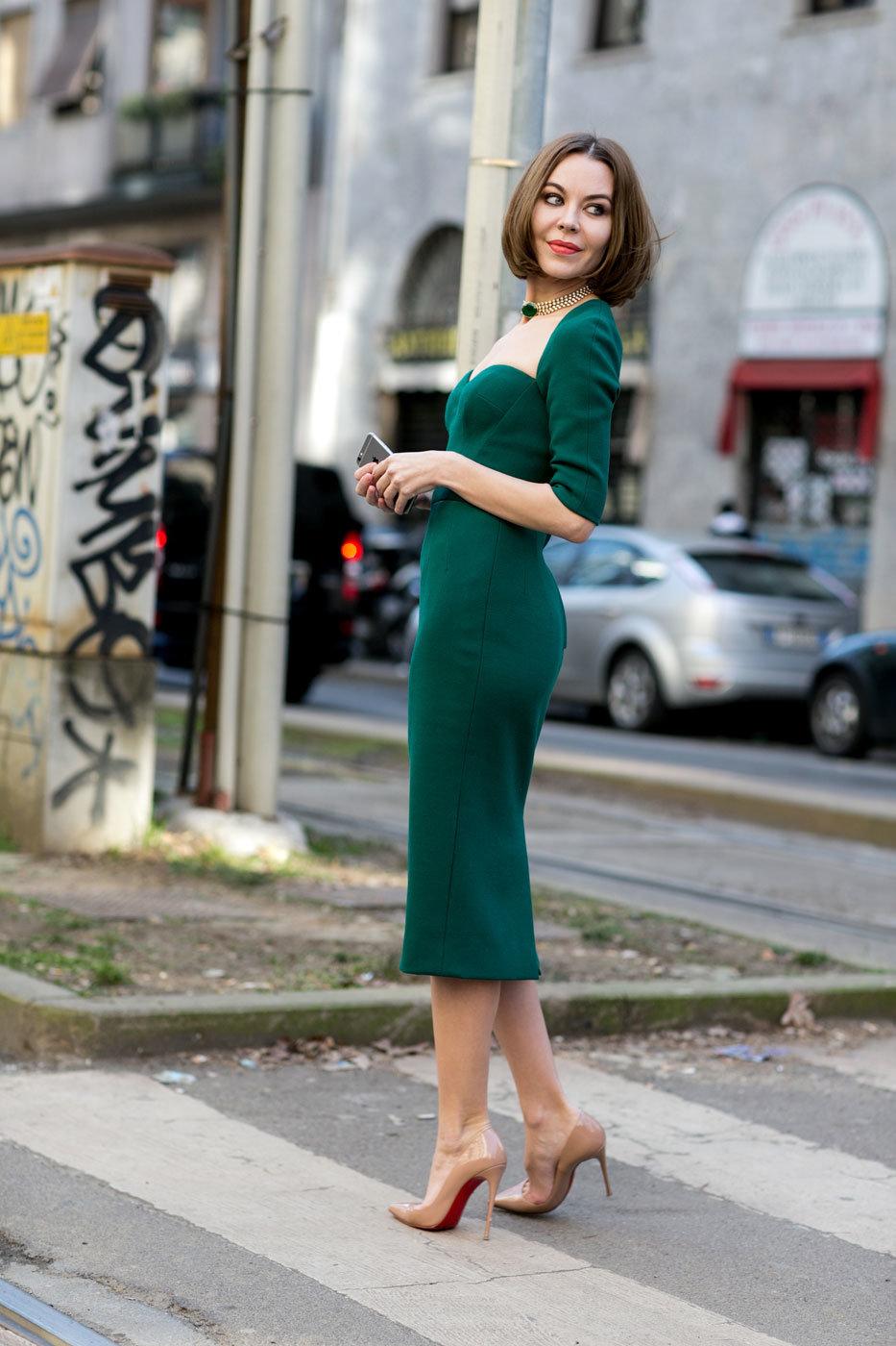 меня начиналось образ в зеленом платье фото кадрам