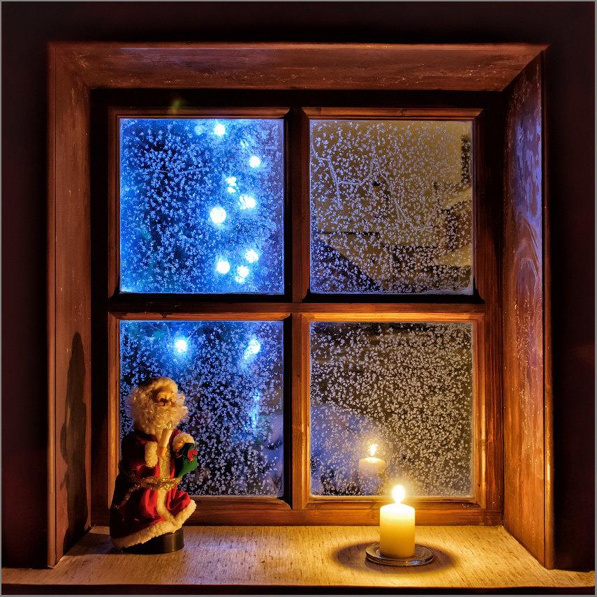 картинки зимнее окно